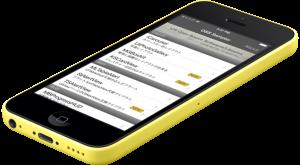 OSS Sampler 1.6 iphone5c yellow